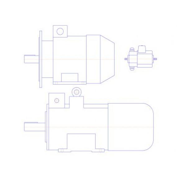 Каталог: Электродвигатели (приложение для КОМПАС-3D/КОМПАС-График)
